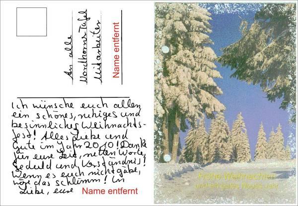 briefe zu weihnachten